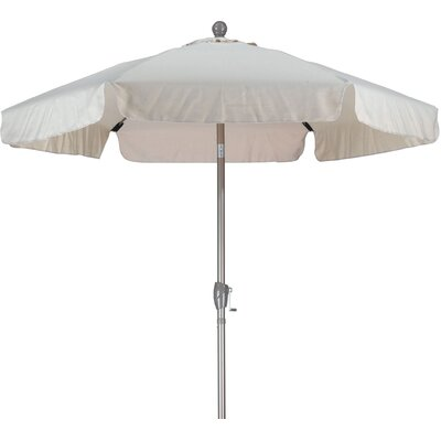 7.5 Drape Umbrella Fabric: Spun Polyester Antique Beige