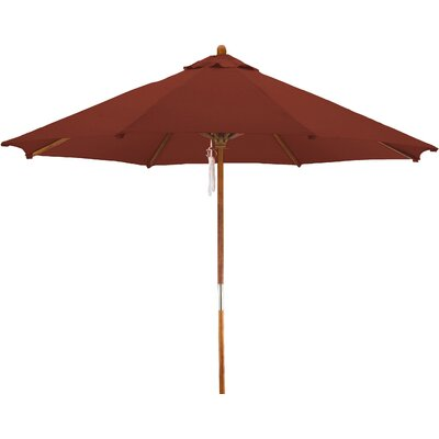 9 Woodhaven Market Umbrella Fabric: Polyester Brick