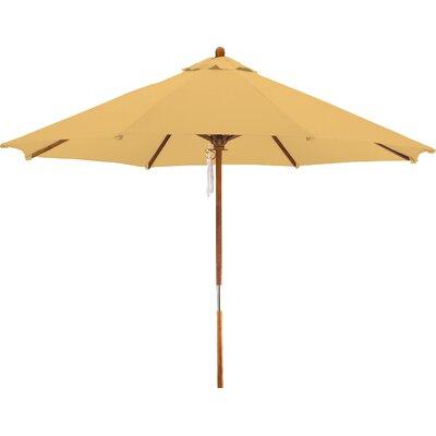 9 Woodhaven Market Umbrella Fabric: Polyester Yellow