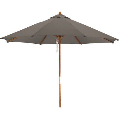 9 Woodhaven Market Umbrella Fabric: Polyester Taupe
