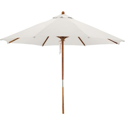 9' Woodhaven Market Umbrella Fabric: Polyester Natural BCHH6574 40292066
