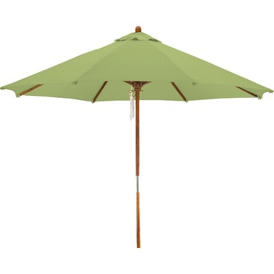9 Woodhaven Market Umbrella Fabric: Polyester Lime Green