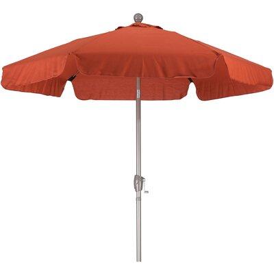 7.5 Drape Umbrella Fabric: Spun Polyester Red Brick