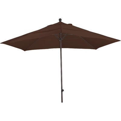 11 Market Umbrella Fabric: Sunbrella-Bay Brown