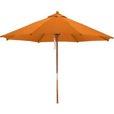 April 9' Woodhaven Market Umbrella Fabric: Polyester Tuscan BCHH6574 40292067