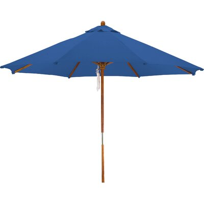 9 Woodhaven Market Umbrella Fabric: Polyester Pacific Blue