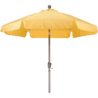 7.5 Drape Umbrella Fabric: Spun Polyester Yellow