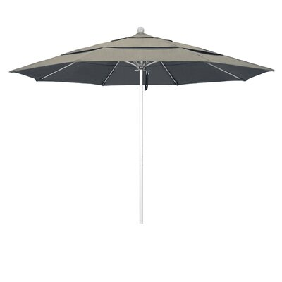 11 Market Umbrella Frame Finish: Silver Anodized, Color: Spectrum Dove