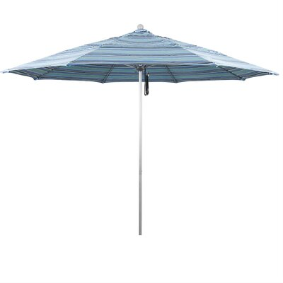 11' Market Umbrella Frame Finish: White, Color: Dolve Oasis