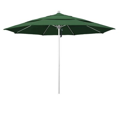 Image of 11' Market Umbrella Color: Hunter Green