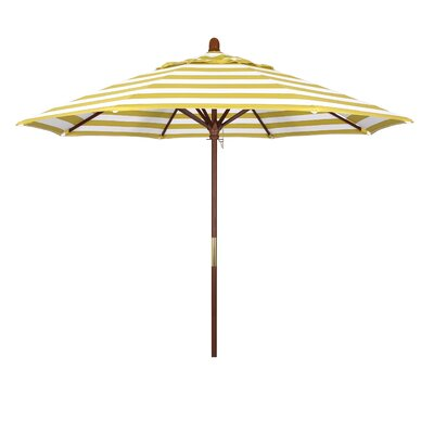 9 Mare Series Market Umbrella Fabric: Citron