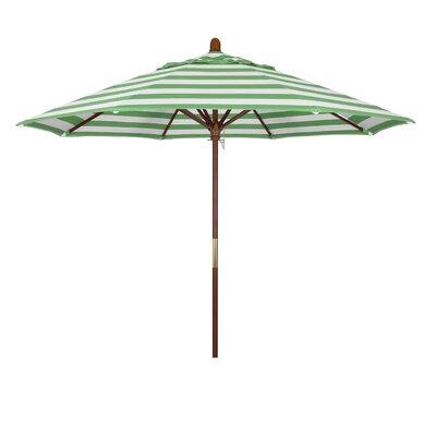 9 Mare Series Market Umbrella Fabric: Emerald