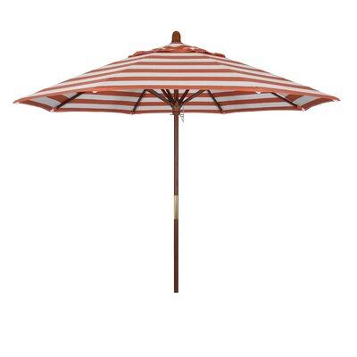 9 Mare Series Market Umbrella Fabric: Flame