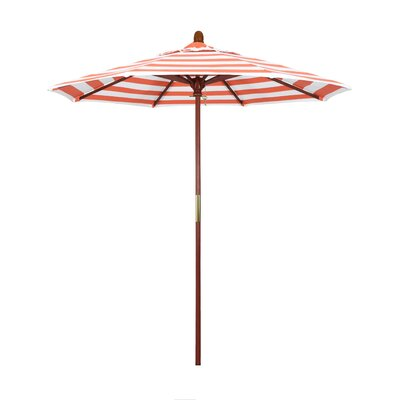 7.5 Mare Series Market Umbrella Fabric: Flame