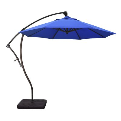 9 Cantilever Umbrella Fabric: Pacific Blue