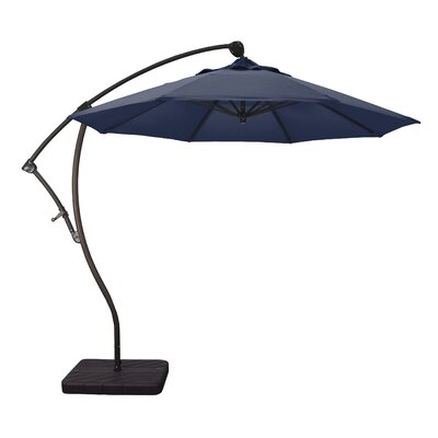 9 Cantilever Umbrella Fabric: Navy Blue