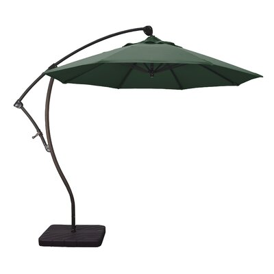 9' Cantilever Umbrella Fabric: Hunter Green