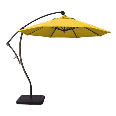 9 Cantilever Umbrella Fabric: Lemon