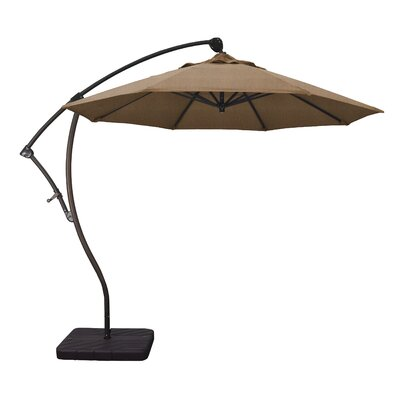 9 Cantilever Umbrella Fabric: Teak