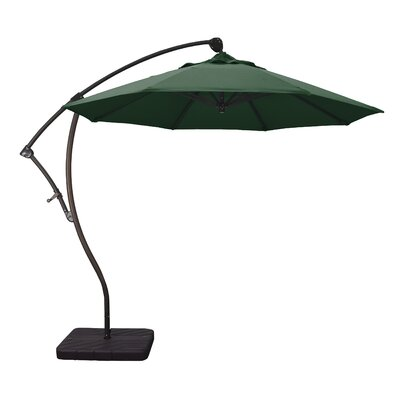 9 Cantilever Umbrella Fabric: Hunter Green