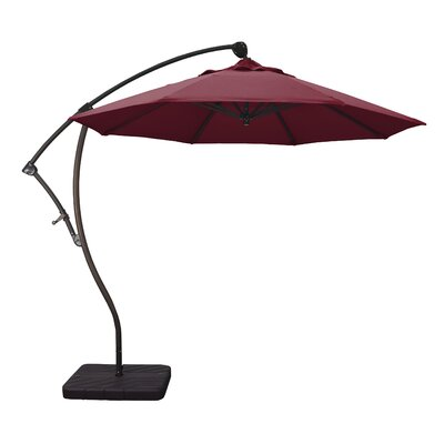 9 Cantilever Umbrella Fabric: Burgundy