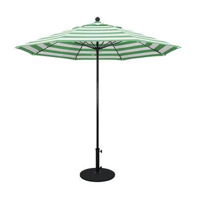 9 Market Umbrella Fabric: Emerald