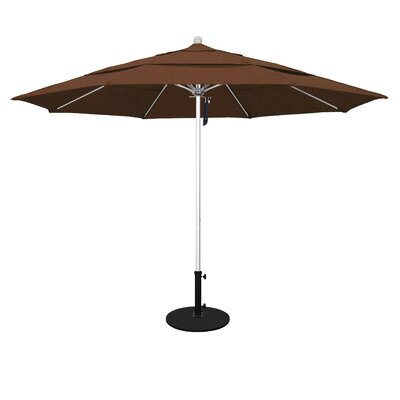 11 Market Umbrella Color: Teak