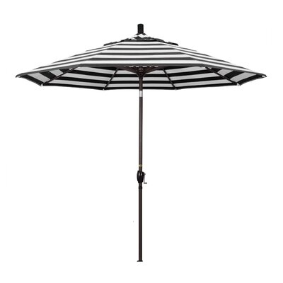 9 Market Umbrella Frame Finish: Bronze, Fabric: Classic