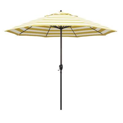 9 Market Umbrella Fabric: Citron