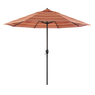 9 Sunline Market Umbrella Color: Dolce Mango