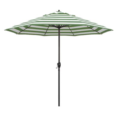 9 Market Umbrella Fabric: Emerald