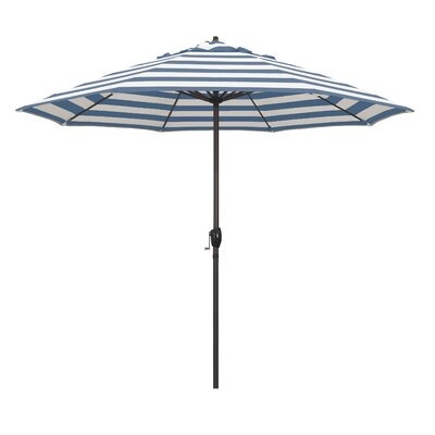 9 Market Umbrella Fabric: Regatta
