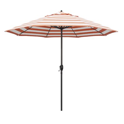 9 Market Umbrella Fabric: Flame