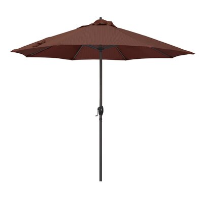 9 Sunline Market Umbrella Color: Terrace Adobe