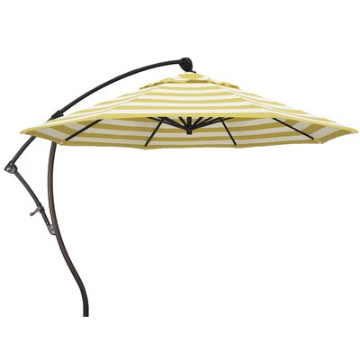 9 Cantilever Umbrella Fabric: Citron