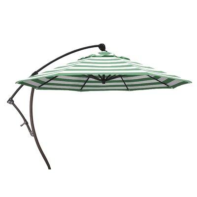 9 Cantilever Umbrella Fabric: Emerald