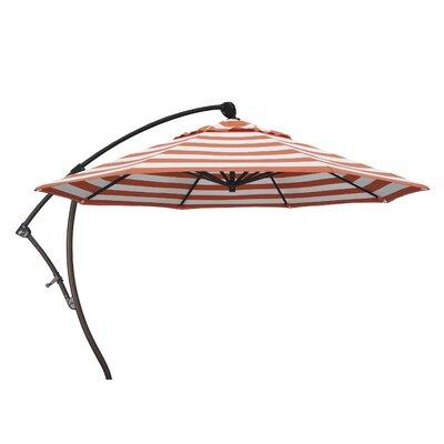 9 Cantilever Umbrella Fabric: Flame