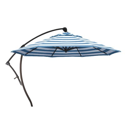 9 Cantilever Umbrella Fabric: Regatta