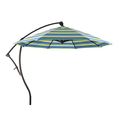 9 Cantilever Umbrella Color: Seville Seaside
