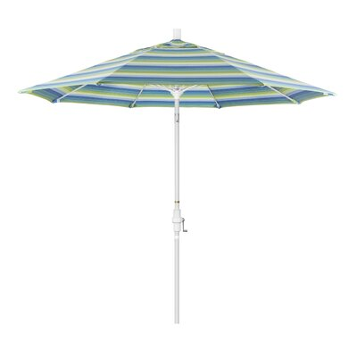 9 Market Umbrella Frame Finish: Matte White