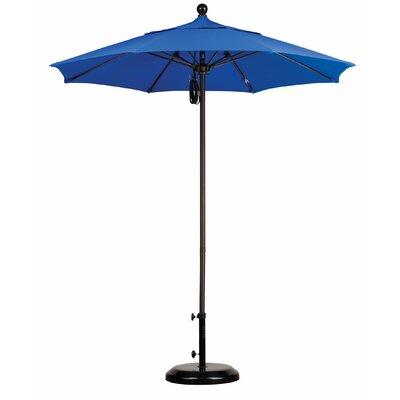 California Umbrella 7.5' Fiberglass Market Umbrella - Finish: Bronze, Fabric: Sunbrella A Antique Beige at Sears.com