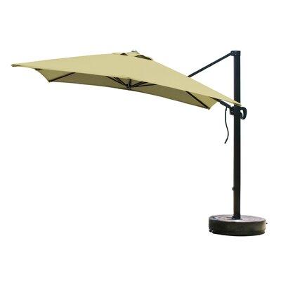 California Umbrella 10' Square Cantilever Umbrella - Fabric: Sunbrella A Canvas Teak at Sears.com