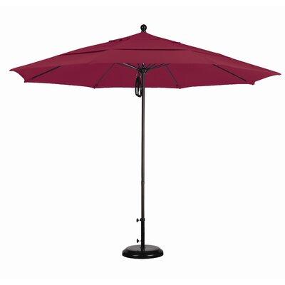 California Umbrella 11' Fiberglass Market Umbrella - Finish: Matted White, Fabric: Pacifica Beige at Sears.com