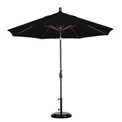California Umbrella 9' Aluminum Market Push Tilt Umbrella - Finish: Bronze, Fabric: Sunbrella A Navy at Sears.com