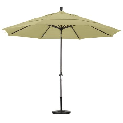 California Umbrella 11' Aluminum Market Umbrella - Finish: Bronze, Fabric: Pacifica Taupe at Sears.com