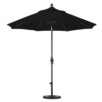 California Umbrella 9' Aluminum Market Umbrella - Finish: Matted White, Fabric: Sunbrella A Cork at Sears.com
