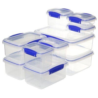 Klip It 20 Piece Food Storage Container Set 1813