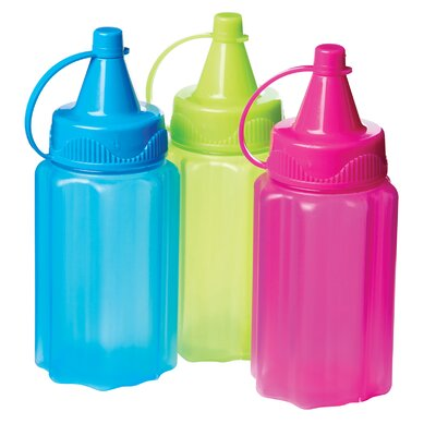 3-Container 35 ml Sauce To Go Squeeze Bottle Set 21475