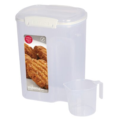 109.6 Oz. Cup Flour Container 1250