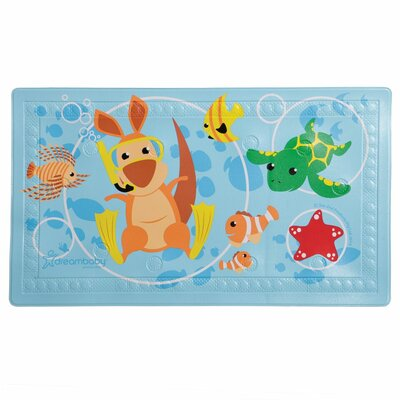 Anti-Slip Bath Mat with Too Hot Indicator L679